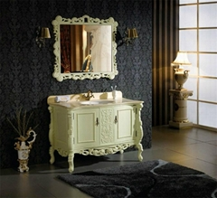 Luxury Solid Wood Antique bathroom furniture OL-330