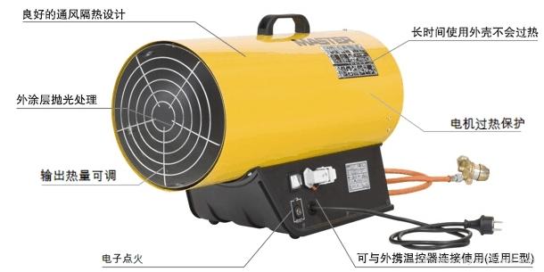蔬菜大棚育苗大棚用的燃氣暖風機 1