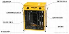 溫室蔬菜大棚用電熱取暖爐