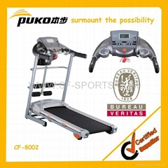 2013 New Motorized Treadmill with Dc Motor From Fitness Supplier