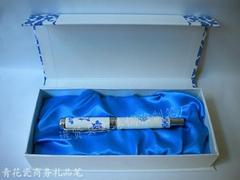 儒雅青花瓷笔