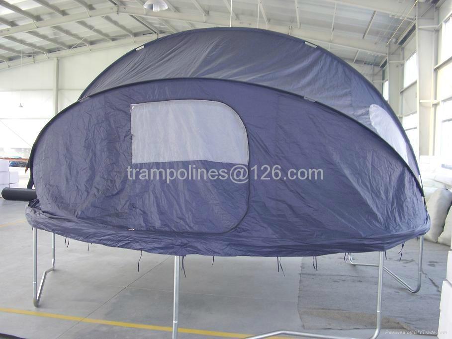 Tr&oline Tent 1 & Trampoline Tent - 12u0027 - TRAMPOLINE (China Manufacturer) - Gymnastics ...