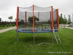 8 ft trampoline with safety net