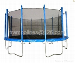 16ft Standard Trampoline with Enclosure (TUV/GS)