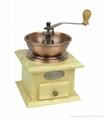 Manual wood coffee machine grinder 3