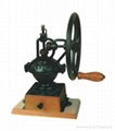Manual wood coffee machine mill 1