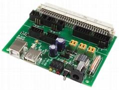 control pcb assemble