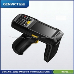 2013 new RFID Handheld reader  with pistol grip