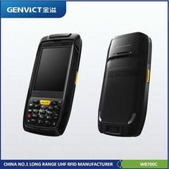 Mifare NFC HF RFID Barcode handheld reader