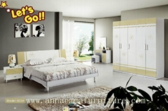 New style MDF cheap bedroom furniture