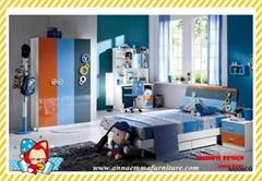 Manufacture childern's bedroom furniture in Foshan