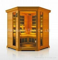 Infrared Sauna Room Hemlock Deluxe 4C