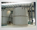 加氣磚設備料漿儲罐