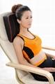 U-waist shiatsu massage cushion with infrared soothing heat 4