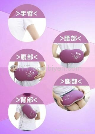 vibration powerful fat burning slimming massage belt machine 4
