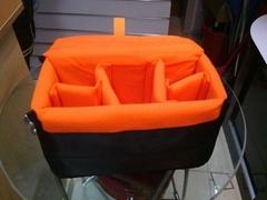 padded DSLR camera insert bag