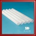 infrared milky glass quartz tube     1