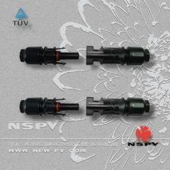 光伏MC4.0线端TUV认证连接器