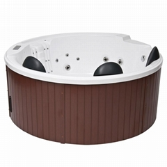 New Round Hot Tub Spa With CE Certification