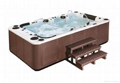 Acylic 10 Person Outdoor Swim Pool Massage Bathtub Spa