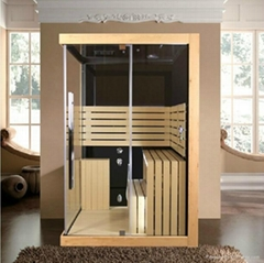 1400*1600*2150mm Luxury Outdoor Computer Controlled Portable Steam Sauna Room