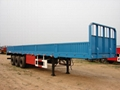 CHINA SINOTRUCK  3AXLES VAN SEMI TRAILER