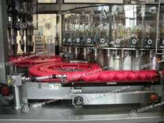 Filling machine plastic parts