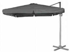 2.5*2.5m  square single roof  rome garden umbrella