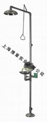 豫章YZF12 大翻蓋防塵復合式洗眼器