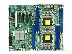 Supermicro超微X9DRL-3F服務器主板