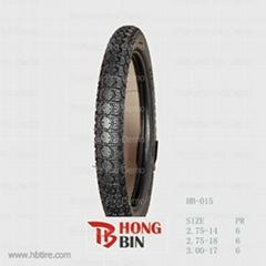 qingdao hongbin motorcycle tyre 2.75-14