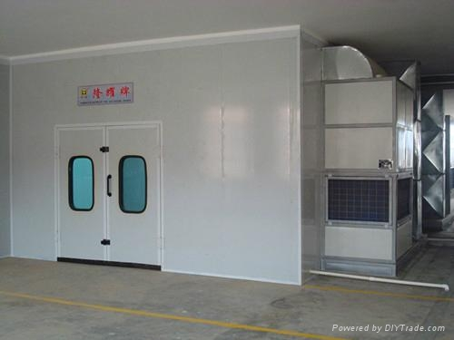 LY-100 Dust-free Furniture Spray -baking Booth with Full Pressure 1