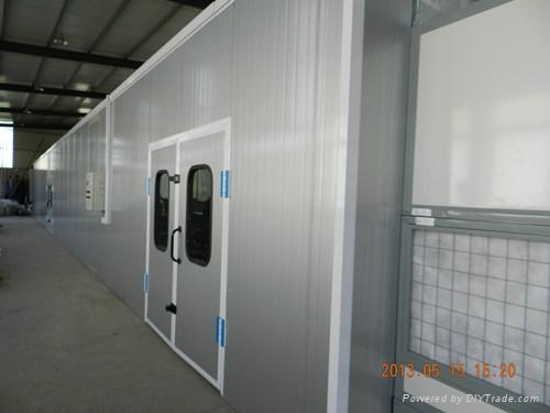 LY-100 Dust-free Furniture Spray -baking Booth with Full Pressure 2