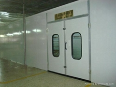 LY-120Dust-free Furniture Spray-baking Booth with Full Pressure