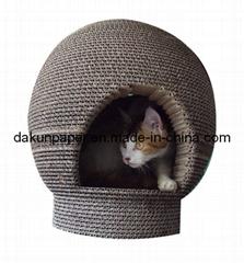 Eco Round Cat House (DKCH120901)