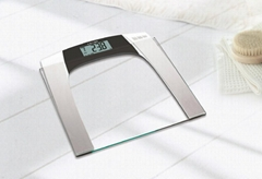 Camry Electronic Personal Scale Body Fat Analysis Glass Platform For Bathroom