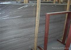 Silver Beige Light wooden marble