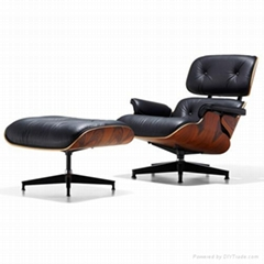 Eames Lounge Chair and Ottoman伊姆斯躺椅