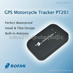 Waterproof gps tracker for motorbike