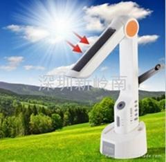 太陽能臺燈收音機