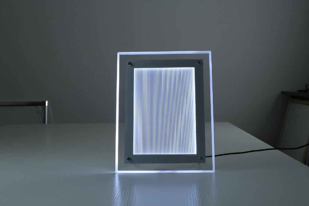 Backlit Led Crystal Slim Light Box Yac A4 Yoshinichi