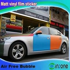 Matt Car Color Change Vinyl Film Sticker 1.52*30m