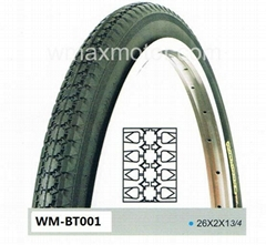 bicycle tire WM-BT001 26X2X1 3/4