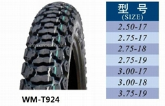 Motorcycle tire, Tire for motorcycle  2.75-18, 2.75-19