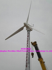 wind turbine generator 50KW with air pitch