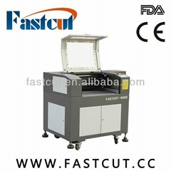 laser engraving machine 4060 CE FDA for rubber cloth
