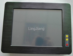 atom d2550 industrial touch screen panel pc