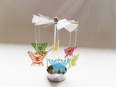 metal windmill tealight candle holder 3
