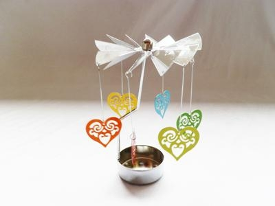 metal windmill tealight candle holder 4
