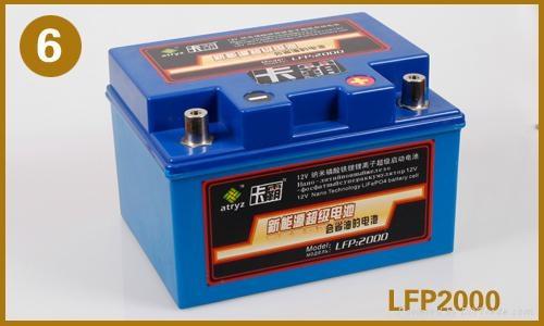 卡霸纳米石墨烯磷酸铁锂电池 1